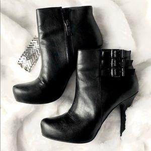 BCBGeneration bootie heels size 7